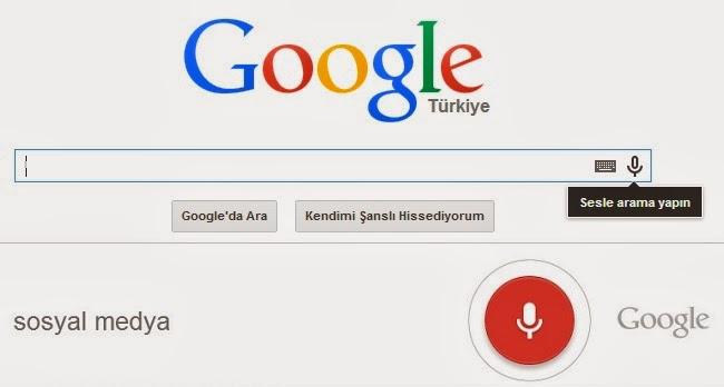 Google sesli arama özelliği ve yeni seo teknikleri
