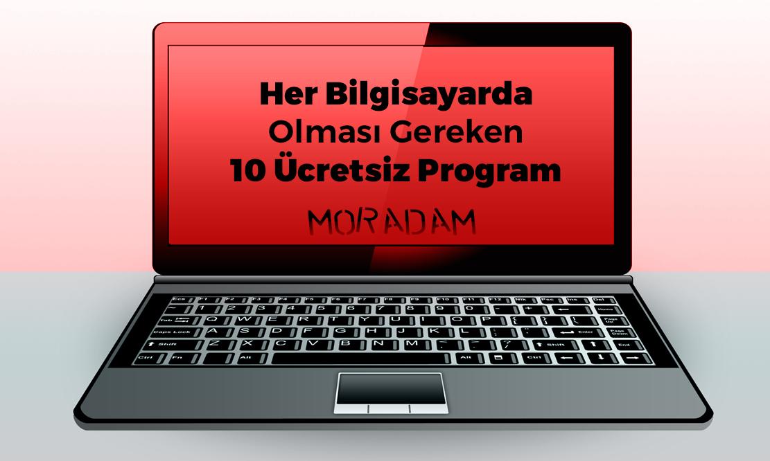 Her Bilgisayarda Olması Gereken 10 Ücretsiz Program