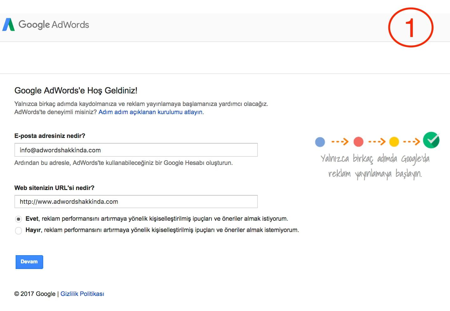 Google adwords raporu nasıl hazırlanır ?