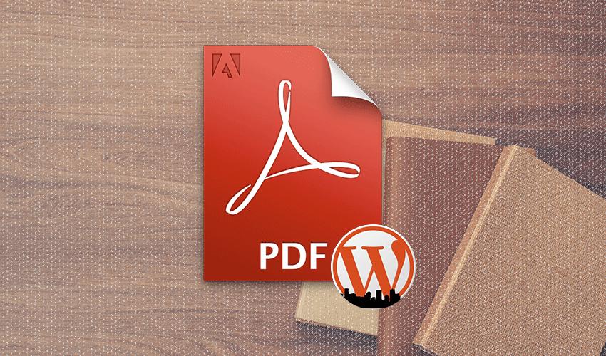 En İyi WordPress PDF Eklentileri
