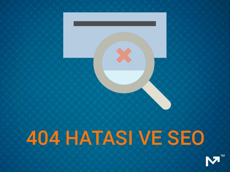 404 hatası ve seo
