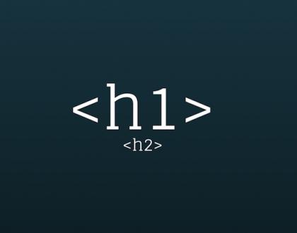h1 etiketi