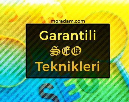 Garantili SEO Teknikleri [2019-2020]